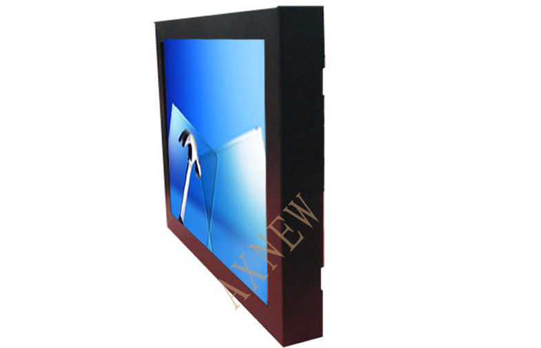 15 Inch LED Based Capacitive Touch Screen LCD Displays AR/AG 4mm