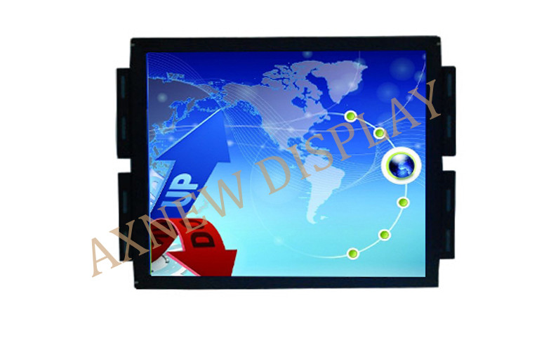 19 Inch Square Sunlight Readable LCD Monitor PCAP AR/AG Protective screen