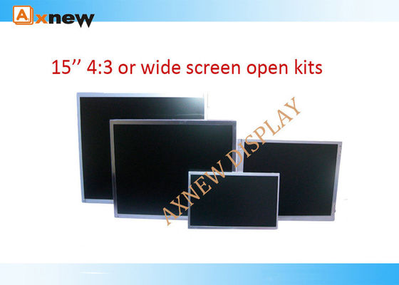 China 1000:1 1024x768 a-Si TFT LCD Display Kits For Outdoor Advertising distributor